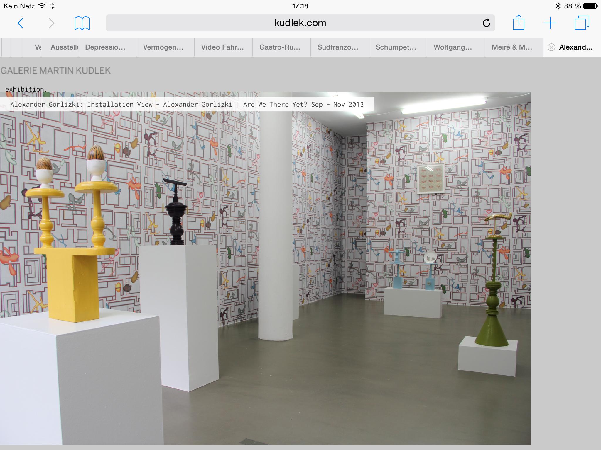 Martin Kudlek Gallery 2013