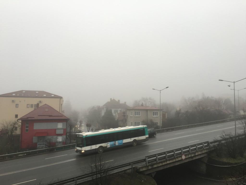 Waschkuechenwetter in Cluj