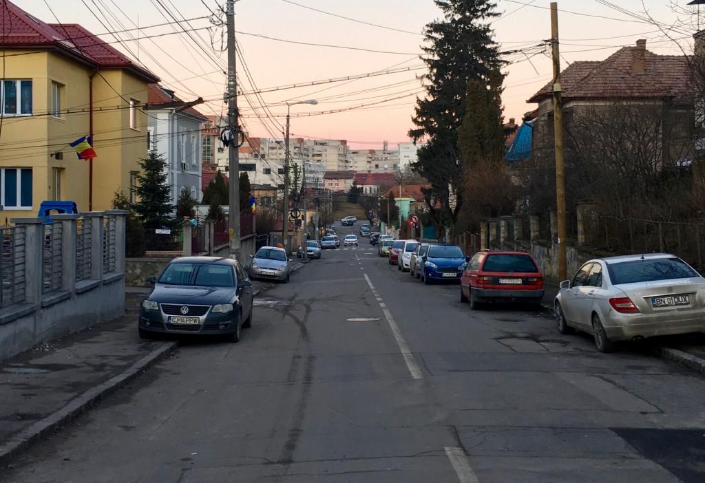 Cluj im Sonnenlicht
