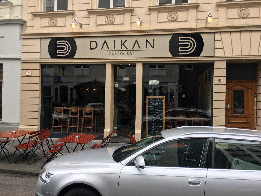 Daikan von außen