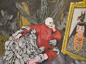 Karin Rougier: U.T. (Death watching Frida) 2016