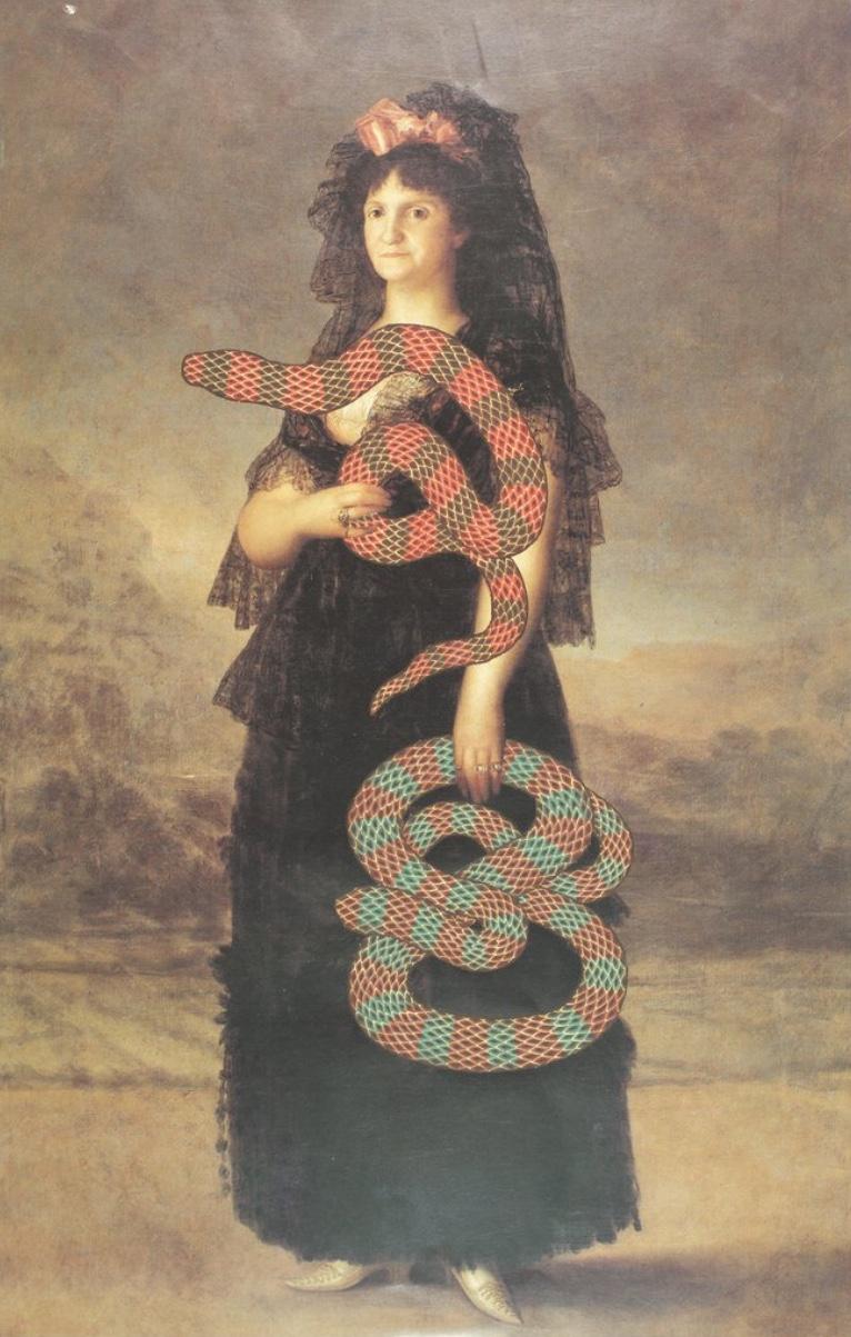 Alexander Gorlizki: Queen Maria Luisa with Snakes (2013)