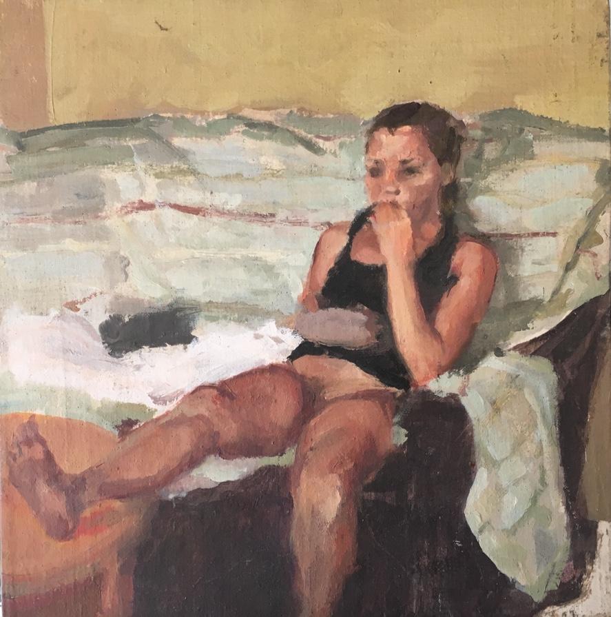 Ioana Iacob: Untitled (Girl on a Sofa) 2008