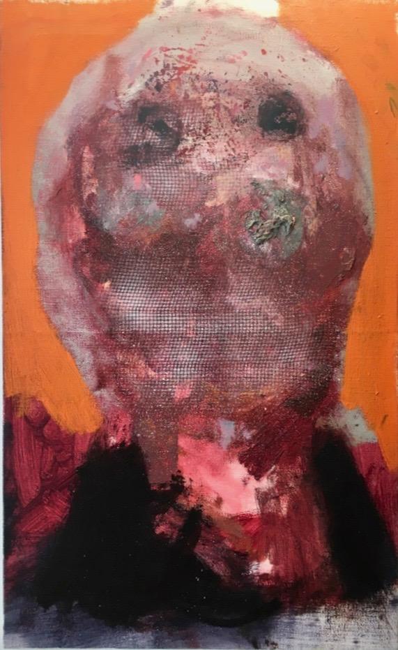 Szabolcs Veres, Herpes 7, 2012, Oil on Canvas