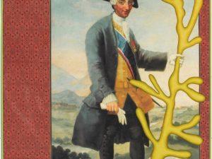 Alexander Gorlizki: Masterful (2013), AG/P, 28 x 18,5 cm, Pigment und Gold auf Papier